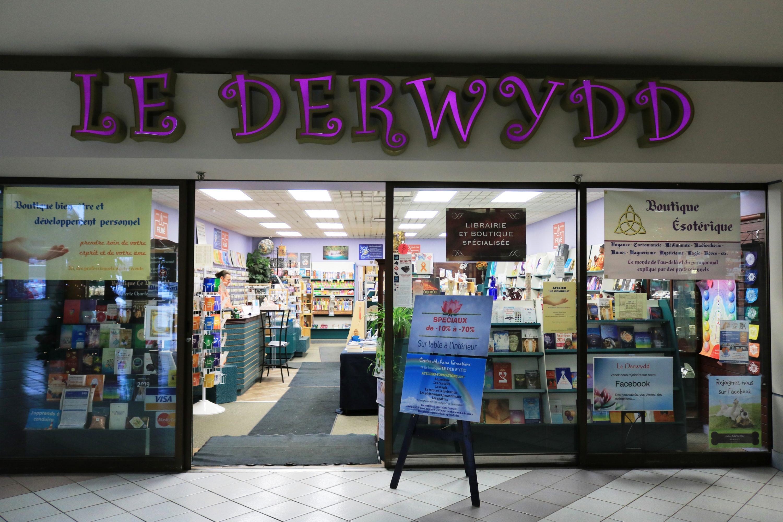 La librairie-boutique Le Derwydd met à disposition du publique une offre éclecyique d'ouvrages et objets de magie et d'ésotérisme